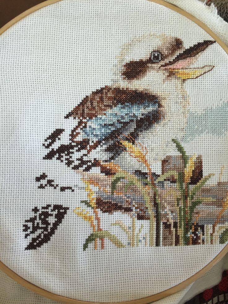 Nearly finished cross stitch