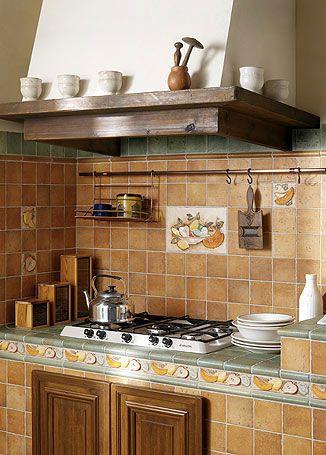 Коллекция плитки для кухни QUINTANA