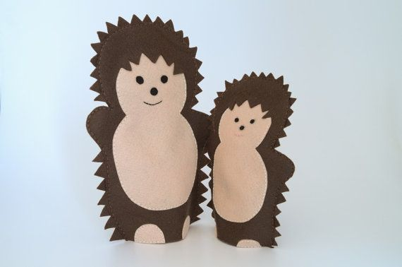 Items similar to Hedgehog puppets - the puppet, puppets for children, hand puppets, hand puppet, puppetry, kids toys, children toy, puppet theatre - on Etsy