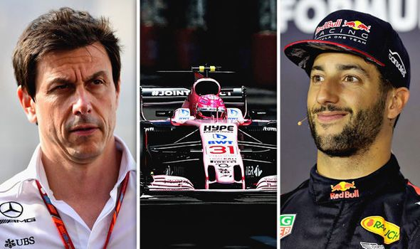 F1 News: Wolff on Hamilton and Vettel's crash new Force India driver Red Bull confident