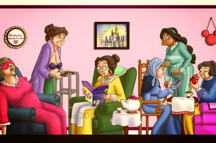 Disney Princess Retirement Home