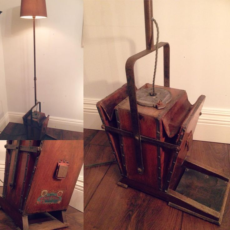 For Sale Truly One Of A Kind Floor Lamp Antique Bellows