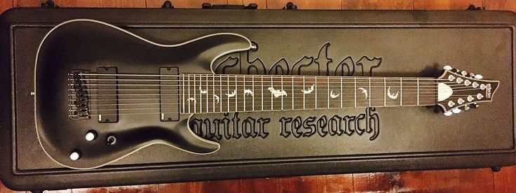 For sale is a Schecter Damien Platinum 9-String guitar in mint condition. This guitar has been barely used and has lived inside its case in a smoke-free studio. This guitar can be heard in the latest DOOM video game soundtrack.Additionally, this guitar will come with 6 sets of Ernie Ball 9 Slinky...
