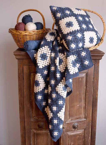 Thorobred Crochet Rug & Cushion - Project - Spotlight Australia