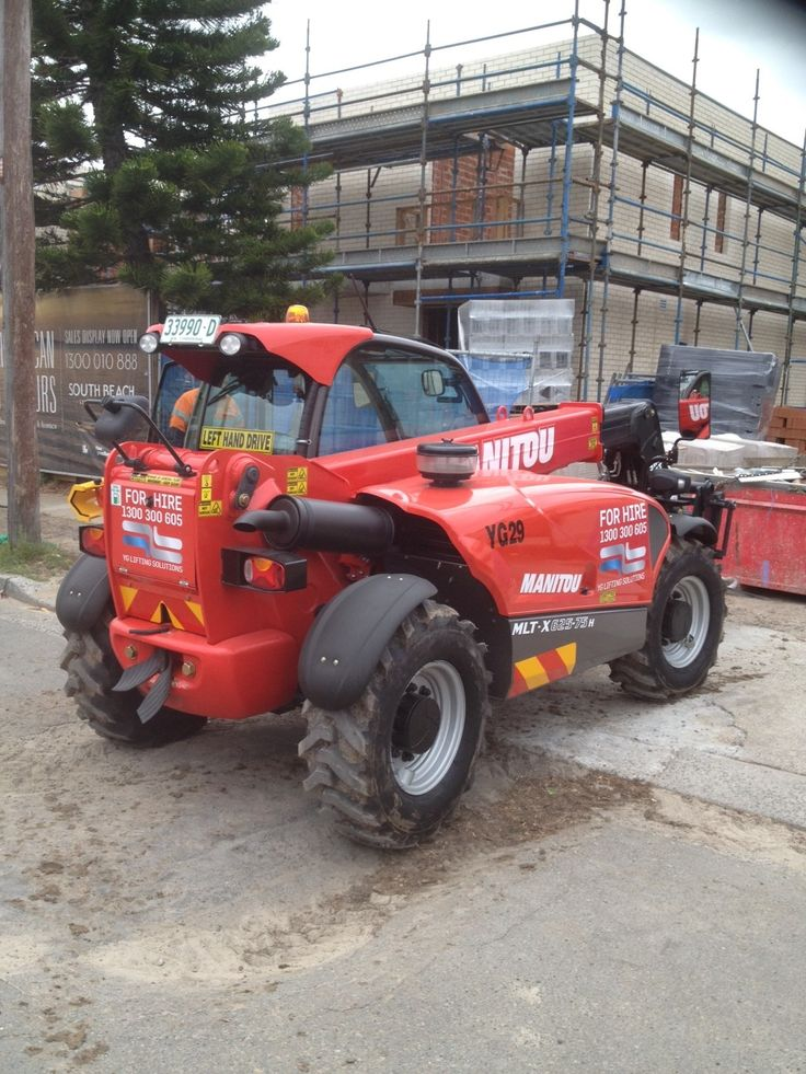 Our Manitou MLT-X-625-75H moving some plaster board around site yesterday.  Call now to book this in to your jobsite 1300 300 605. www.liftingsolutions.com.au