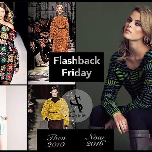 In 2010 glaciers may have been melting and flooding the valleys but global warming be damned, the fashion forecast was brrrrrrrr!!! Which is why designers had loaded us up with big, bulky knits. We still love those knits but slimmed down a little!  #chunkyknit #notsochunky #flashbackfriday #fbf #2010 #sweaters #cozy #warm — En 2010, les glaciers fondaient et les vallées s'inondaient, mais ignorant le réchauffement planétaire, les prévisions de modes étaient frisquettes! Les designers…