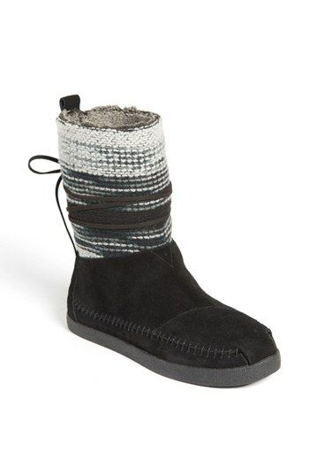 May be a Christmas present idea for 2014...TOMS 'Nepal' Boot (Women) available at #Nordstrom