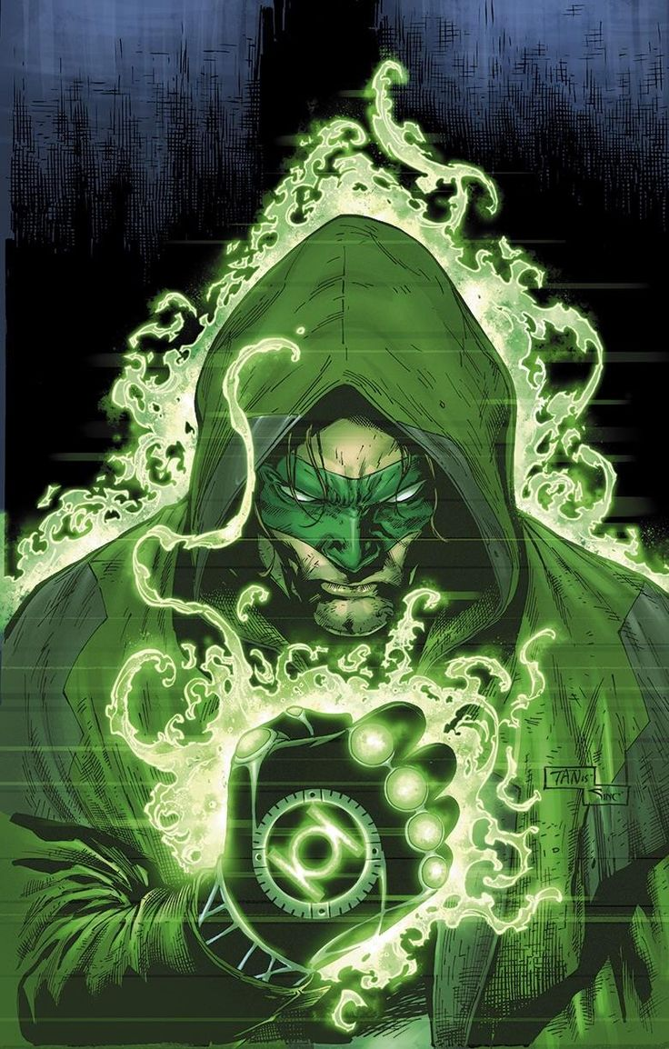 This is what would happen if Green lantern had a child with a the Green arrow