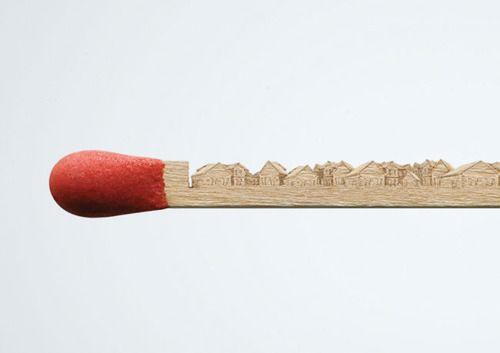 ...House Design, Sticks Art, Matching Art, Things, Art House, Matching Sticks, Creative Advertis, Matching Boxes, Matchstick Art