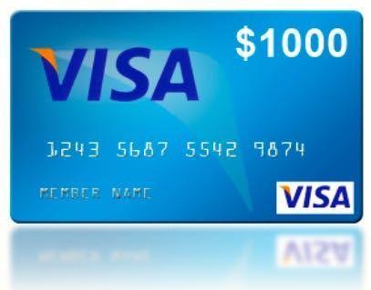 22 best $1000 Visa Gift Card images on Pinterest | Visa gift card ...