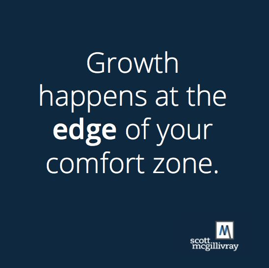Get comfortable with being uncomfortable! #motivation