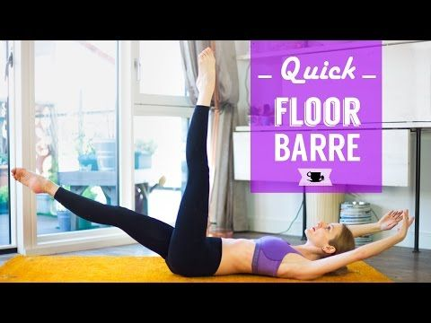 Quick Floor Barre Class | Lazy Dancer Tips - YouTube