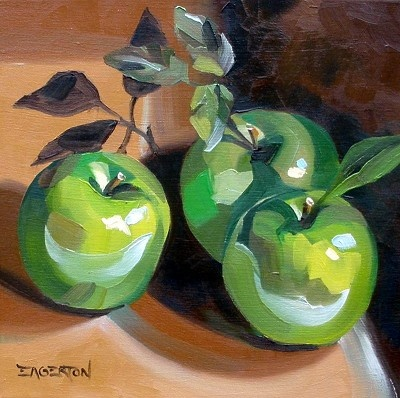 Leigh-Anne Eagerton - green apples painting