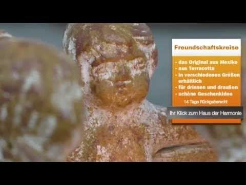 Feng Shui Shop   Freundschaftskreis aus Terracotta - YouTube