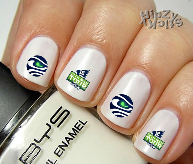 27 best seahawks images on pinterest seattle seahawks seahawks 20 seahawks football 12 man quality nail art by hipzysticky 249 prinsesfo Images
