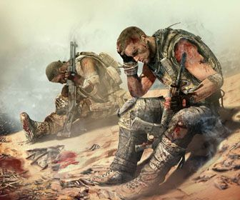 Spec Ops: The Line- Best game ever! Mind blowing story line