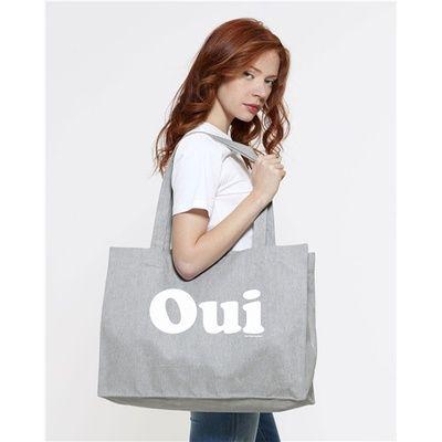 Shopping Bag OUI heather grey Big