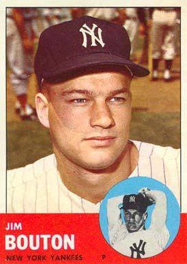 1963 Topps Jim Bouton
