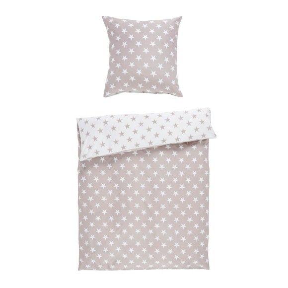 Diese Bettwäsche bietet alle Vorteile echter Naturfasern! Neben der Baumwollqualität begeistert sie außerdem mit dem tollen Sternenmuster!
