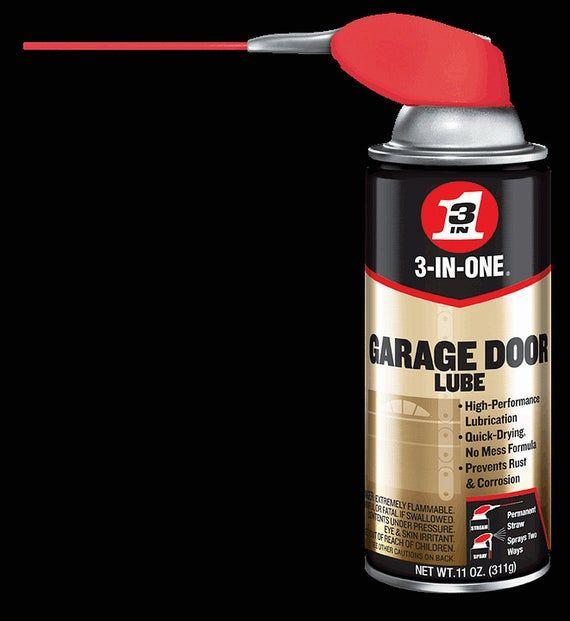 3 In One Garage Door Spray Lube Aerosol Spray Oil Lubricant Etsy In 2020 Garage Doors Garage Spray