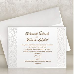 11 best Classic Wedding Invitations images on Pinterest Classic