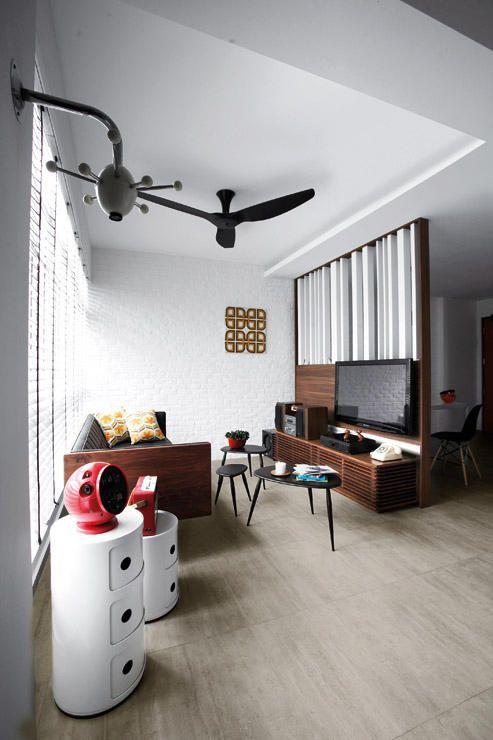 ceiling fan; nice retro style