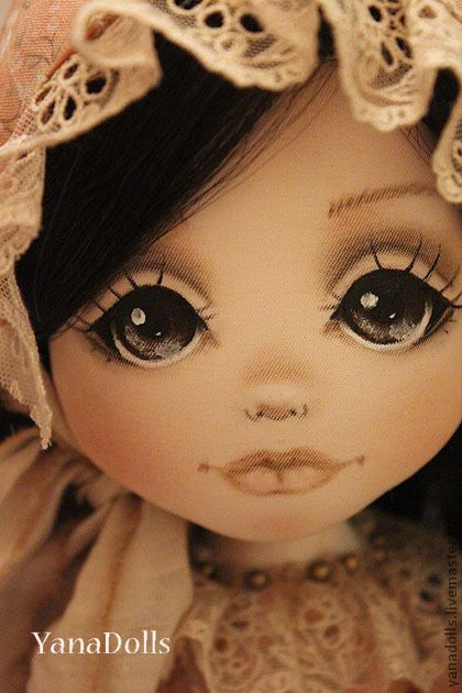 27016508941-kukly-igrushki-nika-n2735.jpg (420×630) - very pretty eyes/nose/mouth painting