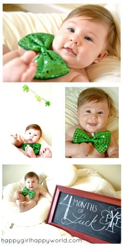St Patricks Day Baby Photography Photography Baby Pictures