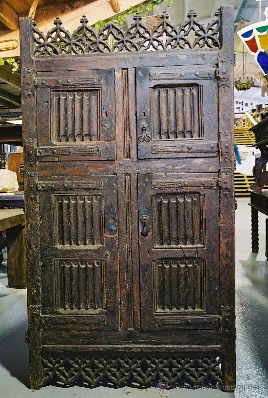 Spanish gothic cupboard