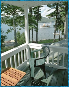 Peaceful Antiqua Resort On Plum Point Lake George In The Adirondacks Of Ny