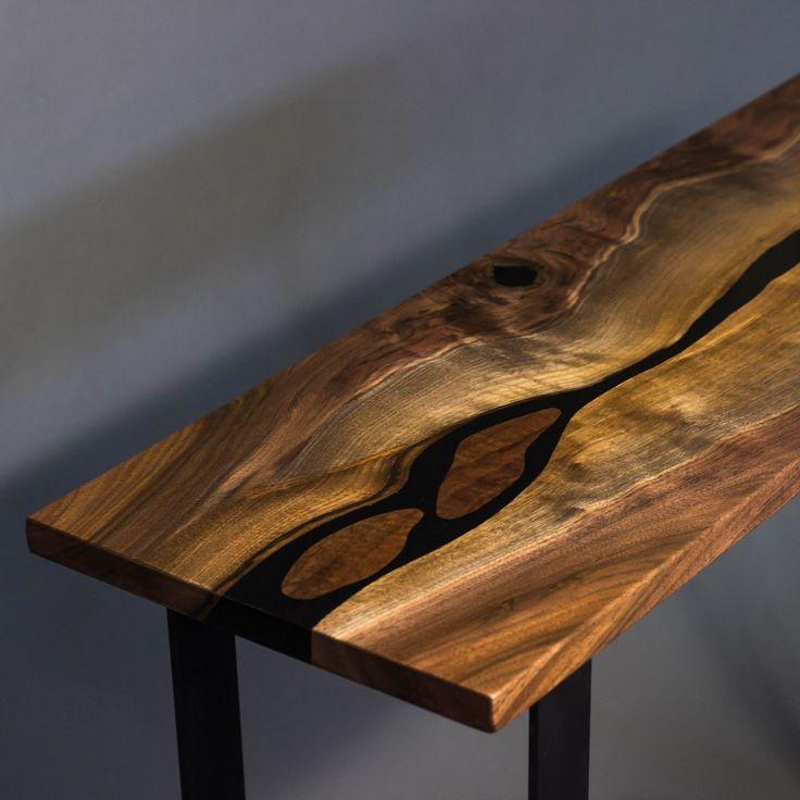 Custom Sofa Portland Oregon: 10 Best Black Walnut River Table Images On Pinterest