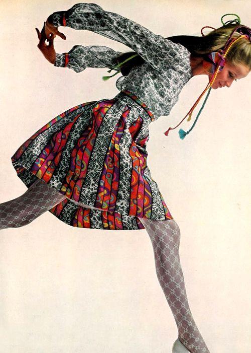 Veruschka by Richard Avedon, 1967.