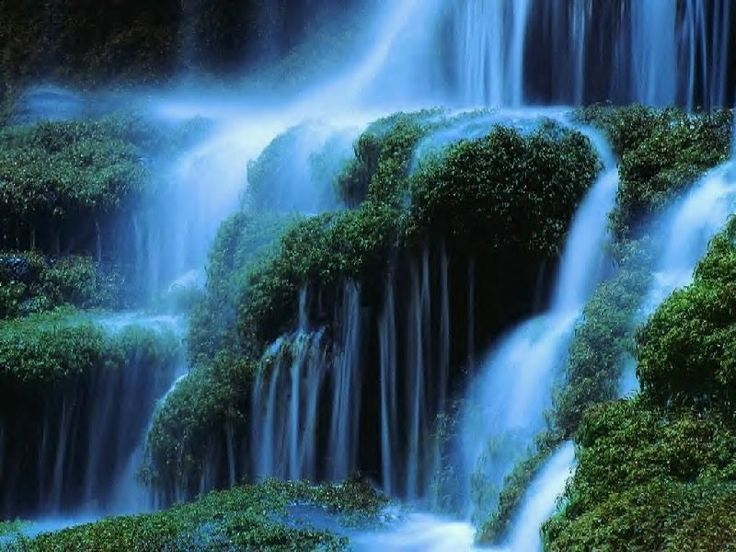 cascades   Fond d'écran cascades gratuit fonds écran cascades chutes d'eau