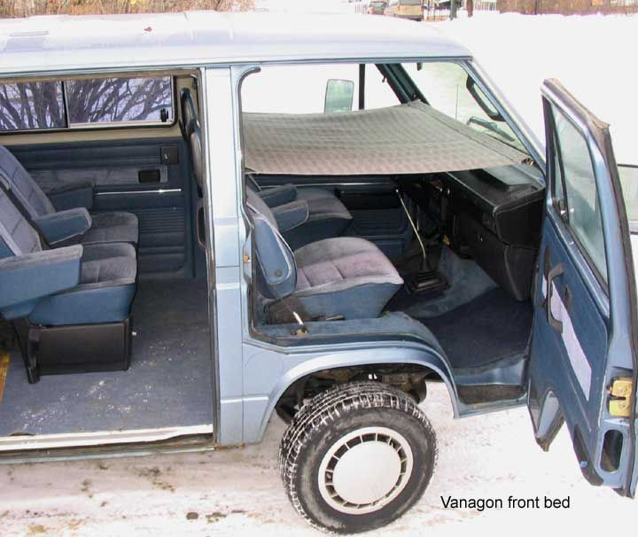 Vanagon Child Bed Camper Van Conversion Pinterest