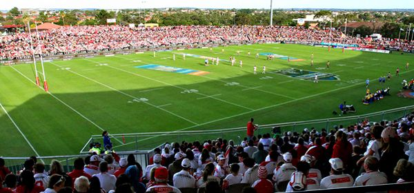A vibrant, modern sporting venue, Jubilee Oval is in the heart of the City which hosts National Rugby League home games for the St George Illawarra Dragons. #Kogarah #sport #mcgrathstgeorge