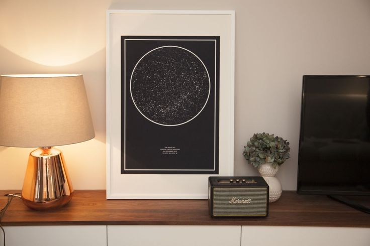 Create your very own unique star map.