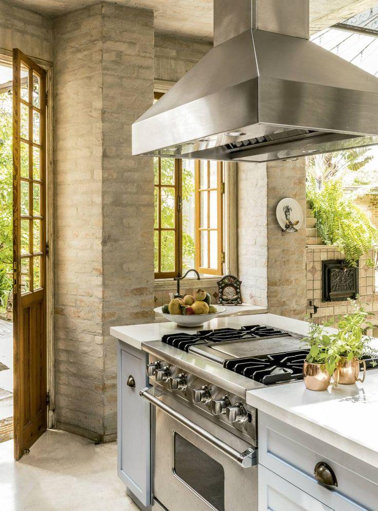 INSPIRAÇÃO DO DIA A cozinha rústica da chef Vivi Barros
