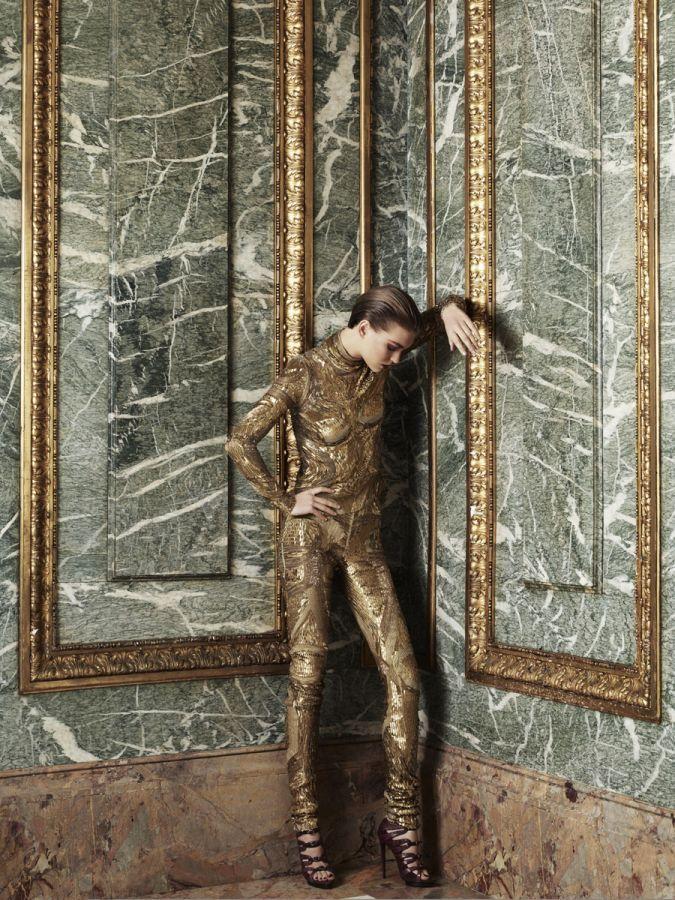Hedi Slimane NEW YORK / ARIZONA MUSE / RUSSIAN VOGUE / MAY 2011