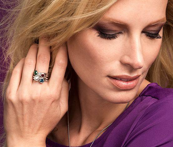 Zestaw pierścionków #tchibo