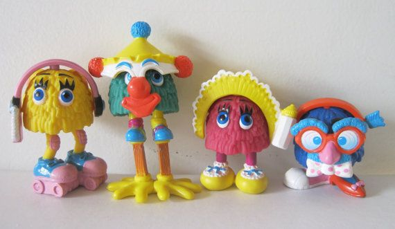 Vintage 80s McDonald's Funny Fry Friends Happy Meal by MoonParade, $8.50