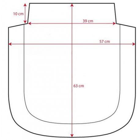 medidas de la colcha para capazo de pekebaby