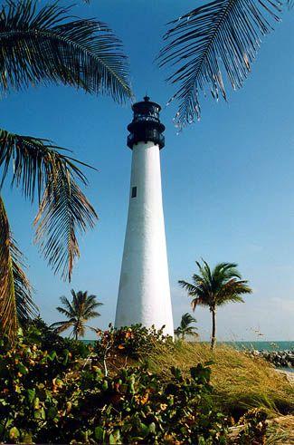 florida lighthouses | Cape Florida, FL