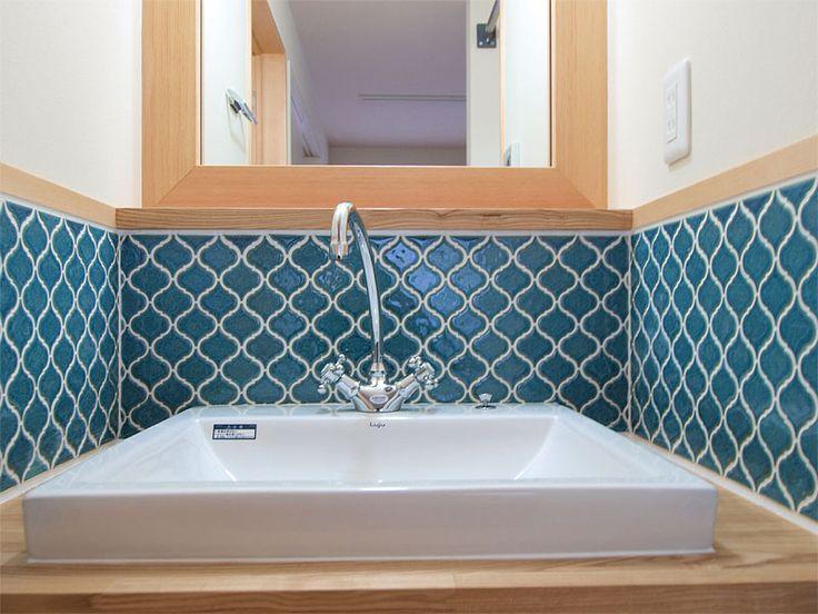 洗面台おしゃれリフォーム実例集 - Google 検索