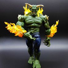 MARVEL 19cm/7.5in Green Goblin Action Figure Ultimate Spider-Man Character Toy Model PVC Figurine Free shipping