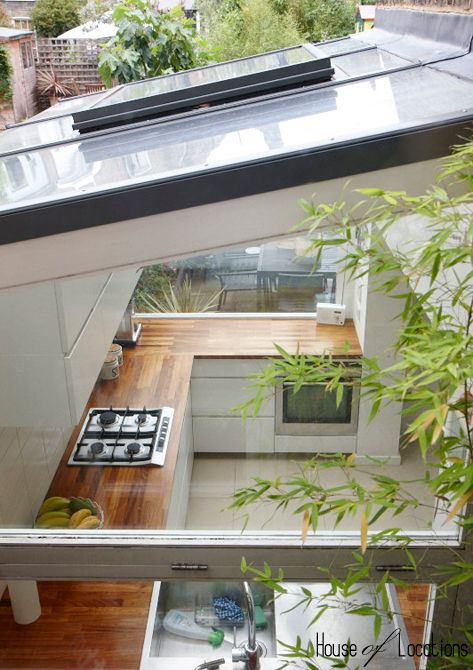 Photographic location house in Clapton East London modern retro stylish