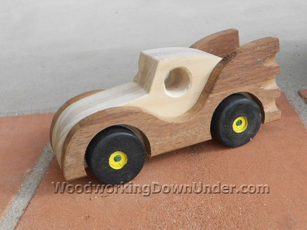 download free plans to build this batmobile toy car from woodworkingdownundercom