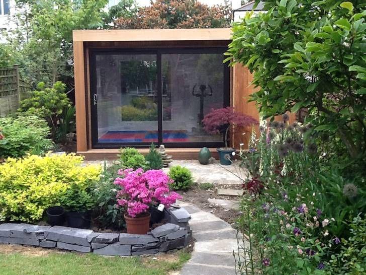 Edge 4x3m Garden Room, Used As A Home Gym U0026 TRX Studio, With Black