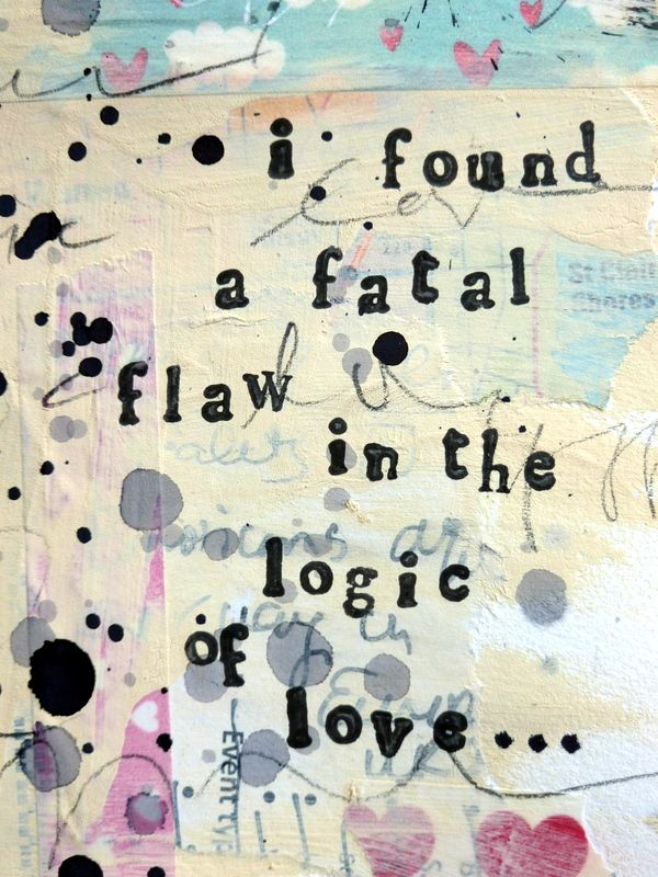 the shins lyrics - i found a fatal flaw in the logic of love