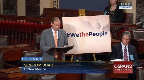 Who: Senator Tom Udall (D-New Mexico) When: June 2016 What:...