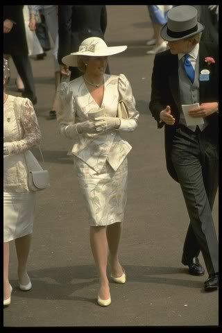 """Whether at home or on the road, we relied on 20-30 people daily to attend our grooming and clothing needs, but then there always the """"grey suits"""" pecking away at Charles time to make excuses for his frequent out of town trips. I start to put my foot down?: Princess Diana, June 1987"""